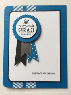 Happy Graduation - SU - Blue Ribbon, Teeny Tiny Wishes