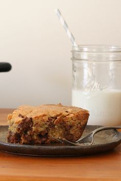 Skillet Chocolate Chip Cookie via @PureWow via @PureWow