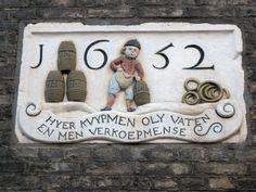 Hier kwamen in 1652 de olievaten aan. ( foto Astrid den Hartog )