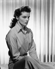 Katharine Hepburn Classic beauty, spunky characters, great career, strong woman