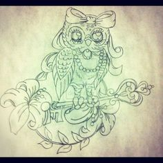 Owl Tattoo Designs Art | visit underlineage designs deviantart com