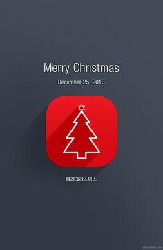알루스토리 :: 크리스마스 모바일 배경 Merry Christmas!
