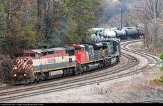 RailPictures.Net Photo: BCOL 4611 BC Rail GE C40-8M (Dash 8-40CM) at Atlanta, Georgia by Kyle Yunker