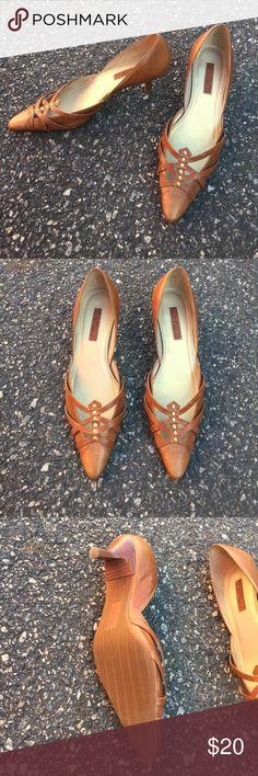 unisa brown high heels size 7, no flaws, ships today💕 Unisa Shoes Heels