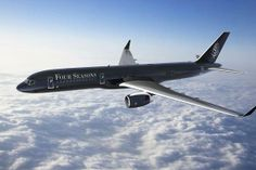 Now boarding: the Four Seasons-branded private jet, with bookings available from $100,000.