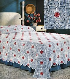 rose afghan patterns for free | Elegant Pineapple Afghan – Crochet Patterns, Free Crochet Pattern