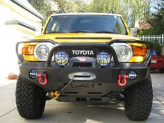 Expedition One Trail Series Kodiak Front Bumper [FJCFB100_KD] - $1,209.99 : Pure FJ Cruiser Accessories, Parts and Accessories for your Toyota FJ Cruiser