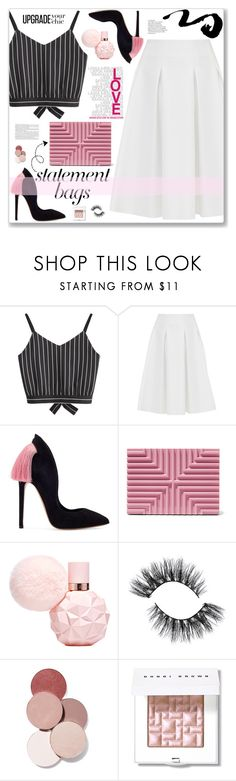 """""""Statement Bags"""" by cowseatchard ❤ liked on Polyvore featuring Ted Baker, Lee Savage, LunatiCK Cosmetic Labs, Bobbi Brown Cosmetics and statementbags"""