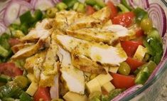 Sałatka mistrzów Gym Food, Polish Recipes, Polish Food, Appetisers, Potato Salad, Food And Drink, Lunch, Bread, Snacks