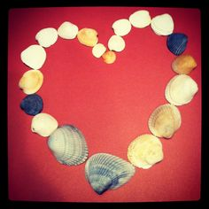 Do something cute with those sea shells you collect from the beach.