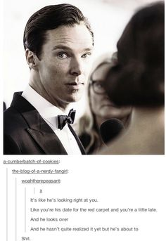 Seriously, these comments and this look, that's how a man should look for his date/significant other. Its beautiful.