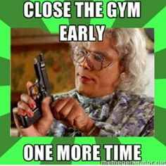 My gym has been doing this a lot lately. Sometimes closing it for am entire weekend... Not impressed!