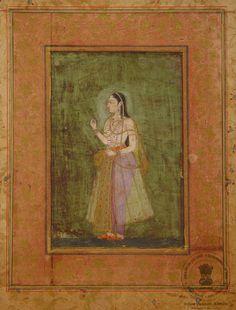 Zeb-un-Nissa Begum, Daughter of Aurangzeb Mughal Miniature Paintings, Mughal Paintings, King Of India, Mughal Empire, Indian Art, Emperor, Persian, Religion, Miniatures