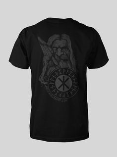 61ea13838784f Mad Viking Odin Shield Tee Men s Tee sizes Small - 3XL is printed on   AnvilSustainable