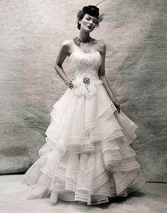 Dreamy Vintage-Inspired Wedding Dresses by Kelly , via Behance