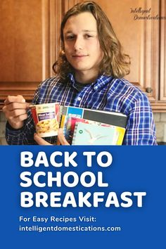 Back to school means busy mornings which means we need some breakfast ideas that are ready quick.  That is why I reviewed Jimmy Dean Breakfast Scrambles with the help of my college Freshman grandson. My honest review shares how he enjoyed both the taste and convenience. Updated to share if he is still eating these for a quick breakfast. #backtoschoolmeal #quickbreakfast #breakfastideas Back To School Breakfast, Best Breakfast, Breakfast Ideas, Breakfast Recipes, Jimmy Dean, Morning People, Christmas Breakfast, Breakfast Casserole, Freshman