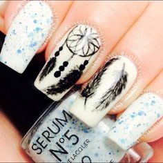 35+ Cool Dream Catcher Nail Designs for Native American Fashion