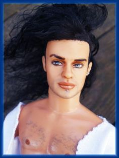 Male Doll Makeovers How to Paint and Customize Ken- Learn how to Repaint OOAK