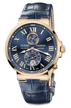 Ulysse Nardin Maxi Marine Mens Watch 266-67/43 « Holiday Adds