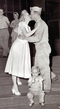 A family reunited after the war http://www.ihistoryprojectww2.org/