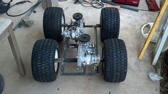 Image result for home built articulated tractor