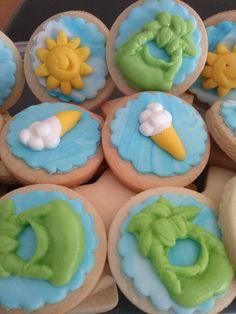 galletas fondant verano