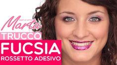 Scoprite in questo tutorial come applicare il rossetto adesivo e realizzare il make-up occhi abbinato! #rossettoadesivo #fucsia #makeup #occhi