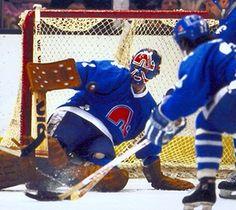 The history of hockey told through hockey jerseys Hockey Goalie, Hockey Games, Ice Hockey, Nhl, History Of Hockey, Quebec Nordiques, Goalie Mask, Detroit Red Wings, Best Player