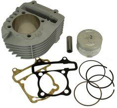 Hoca GY6 Ceramic Big Bore Kit 150cc and 125cc 4 stroke engines Nikasil