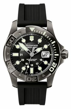 Victorinox Swiss Army® 'Dive Master' Gunmetal Strap Watch available at #Nordstrom