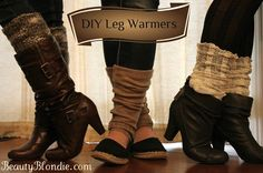 DIY Chic Leg Warmer Tutorial