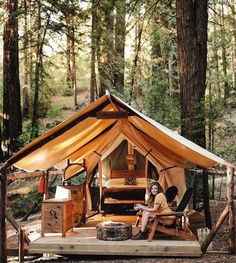 Ventana Glampsite | Big Sur roadtrip: Highway 1 recommendations by HYHOI.com: Have You Heard Of It? | A curation of design-led hotspots around the world, tried and tasted