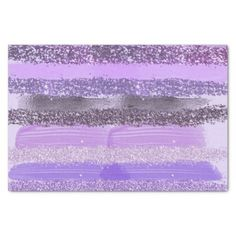 Shop Girly Chic Purple Paint Glitter Brushstrokes Tissue Paper created by _LaFemme_. Blank Business Cards, Custom Tissue Paper, Gift Wrapping Supplies, Glitter Gifts, Photo Memories, Brush Strokes, Small Gifts, Artsy, Girly