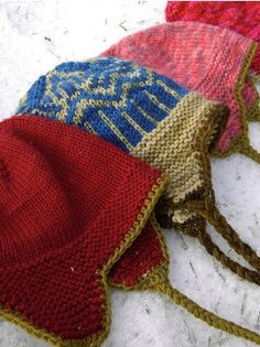 7 free #knit hat patterns