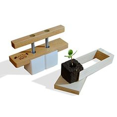 Soil Cube Tool  Soil Block Maker for Seed Starting -- More info could be found at the image url.