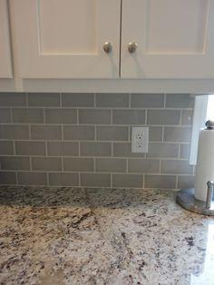 Grey Subway Tile, Ornamental Giallo Light Granite, McBroom Contracting, MN 763-238-6730