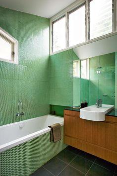 Mid Century Modern bathroom remodels Around the house