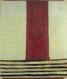 Frank Stella, Red River Valley, 1958, Harvard Art Museums/Fogg Museum.