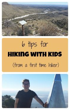 A first time hiker gives hiking tips for beginners and for backpacking or hiking with kids or teens