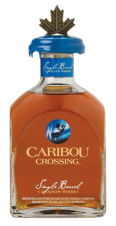 Caribou Crossing · Canadian Single Barrel Whisky · Imported & Bottled in Kentucky