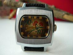 "Collectable Vintage Soviet watch Zim Pobeda ""1917-1977"" / Great October Revolution / wristwatch Made in USSR / mechanical / Maslennikov"