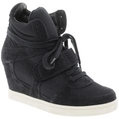 Ash Cool Bis Wedge Sneakers ($271) via Polyvore
