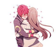 Find images and videos about art, couple and anime on We Heart It - the app to get lost in what you love. Seven Mystic Messenger, Mystic Messenger Fanart, Mystic Messenger Characters, Anime Couples, Cute Couples, Saeyoung Choi, Villainous Cartoon, Cute Anime Coupes, Romantic Manga