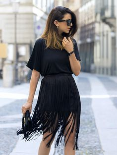 How To Rock An All Black Outfit Stylishly