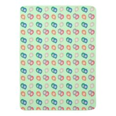 Colorful Balloons Patterned Baby Blanket #zazzle #baby #newborngifts