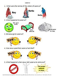 Bible Fun For Kids: Life of Jesus Worksheets