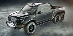 Heavens to Betsy, Hennessey Is Making a 600-HP Raptor 6x6  - RoadandTrack.com