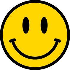 スマイルマークのイラスト<黄色:縁あり> Emoji Feliz, Homemade Stickers, Smiley Emoji, Face Stickers, Tumblr Stickers, Hippie Art, Aesthetic Stickers, Mellow Yellow, Smile Face
