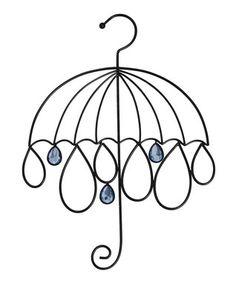 Umbrella Scarf Holder