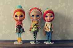 https://flic.kr/p/kCCTc3   dolly shelf sunday   special edition  featuring three times  - tiina customs - button arcade dresses - drop dead cute hats - ixtee cons - blue chips - freckles - blonde hair (if you count marigold yellow as blonde) - awesomeness